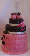 bespoke-pink-and-black-chocolate-18th-birthday-cake