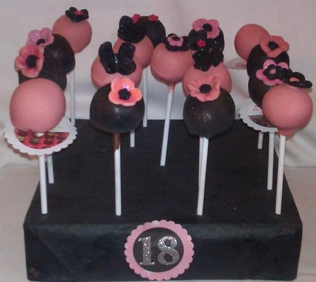 black-and-pink-glitter-cake-pops