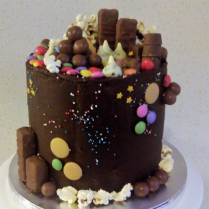 chcocolate birthday cake